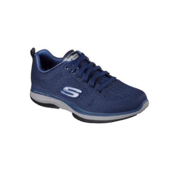 Skechers Mens Burst TR Coram (Navy Blue, Sz 7.5) NWT
